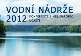 banner konference Vodní nádrže 2012