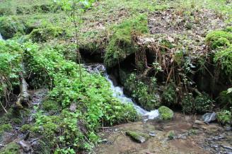 potok voda eroze