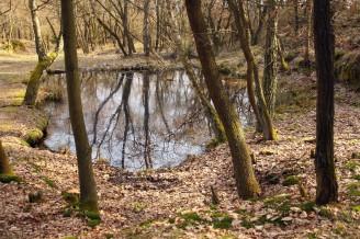 Klepec - zatopené lůmky