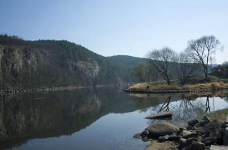 Vltava u Kamýku
