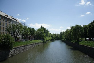 Olomouc - řeka Morava