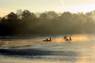 výlov atmosféra podzimního rána - IMG_8280