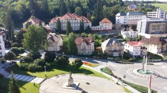 Lázeňský hotel Morava pod lesem