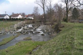 Sedlnice POD protipovodně - po úpravě spádového stupně v ř.km 6,337 vodního toku Sedlnice (2)