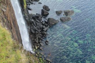 Skotsko vodopád moře - IMG_7097