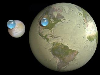 osel - voda na Zemi a jiných planetách