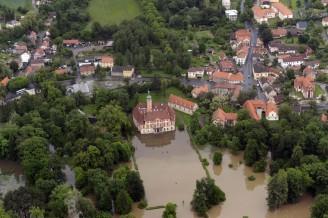 Liběchov - povodně