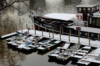 Vltava - Praha - sníh - IMG_0227