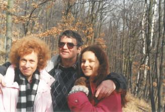 Josef Vavroušek s rodinou archiv