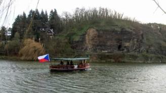 Vltava převoz loď stará
