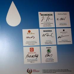 podpisy odpovědné nakládání voda 2014