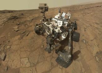 Curiosity Mars voda