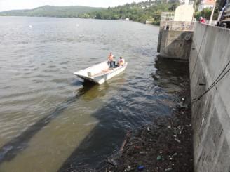 PMO - čištění brněnská přehrada - DSC08738