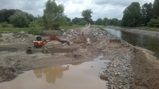 Povodí Vltavy - Kanál Troja_podbaba v době realizace