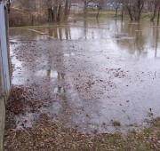Povodeň - déšť povodně