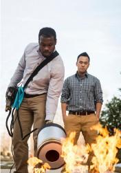 hasič zvuk věda výzkum