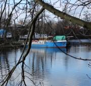 malá loď voda Vltava - IMG_1108