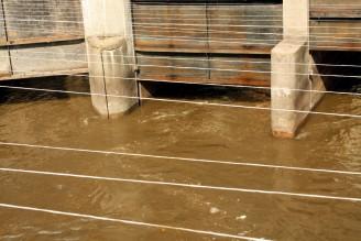 kaly ČOV - odpadní vody