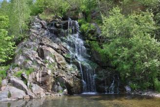vodopád Masty výlety krajina