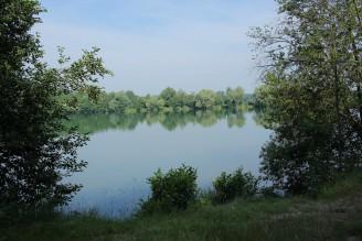přírodní jezero Poděbrady
