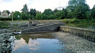suchý jez Kaňov raft