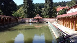 Lázně Luhačovace - říční lázně