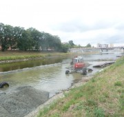 PMO těžba štěrk Bečva Přerov