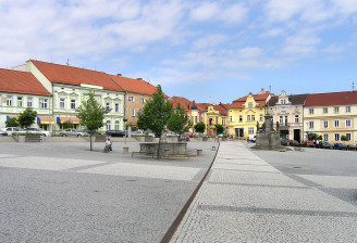 Votice,_Komenského_square