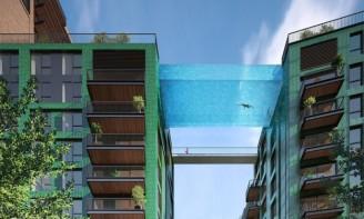 Londýn nebeský bazén
