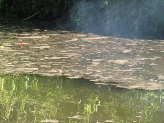 Havárie značištěná voda kontaminace