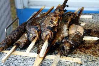 ryby - pokrmy - grilovaný pstruh