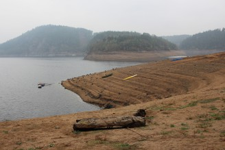 Orlík - sucho - Radava říjen 2015