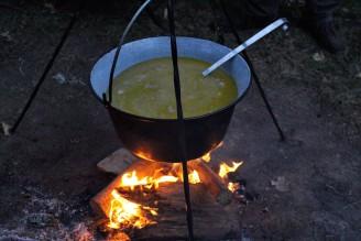 pokrmy výlov rybí polévka - IMG_4251