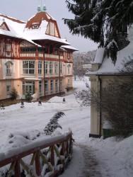 Lázně Luhačovice - zima