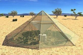 stan poušť - srážení vody ekobonus