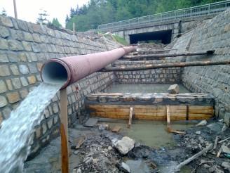 Povodí Moravy - opravy Horní Bečva