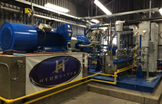 hydrostor skladování energie