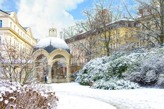 Karlovy Vary v zimě
