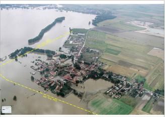 Zálezlice povodeň v roce 2002