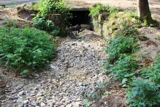 sucho - vyschlý potok - IMG_3328