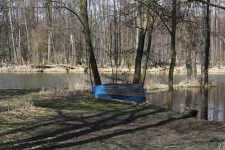 Blatná - umělý park