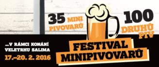 Festival minipivovary Brno 2016 Salima