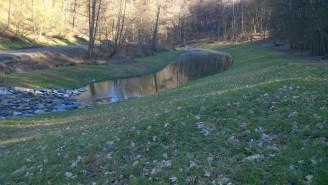 Povodí Moravy - sedimentační nádrže - čistota brněnská přehrada 1