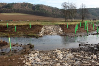 revitalizace řeky Loděnice - Povodí Vltavy - Naše voda