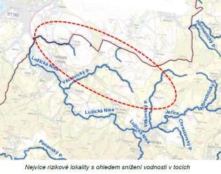 Turów - SVS - rizikové lokality - voda