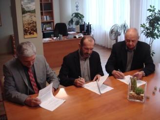 POD a rybáři podpis dohody