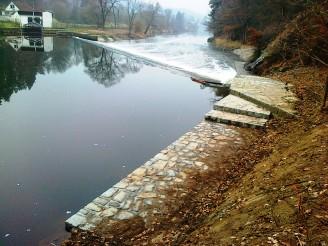 Povodí Vltavy - Lužnice_jez_Doubek
