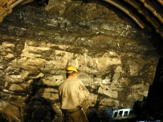 dobývání uhlí