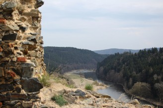 Berounka - výhled Krašov