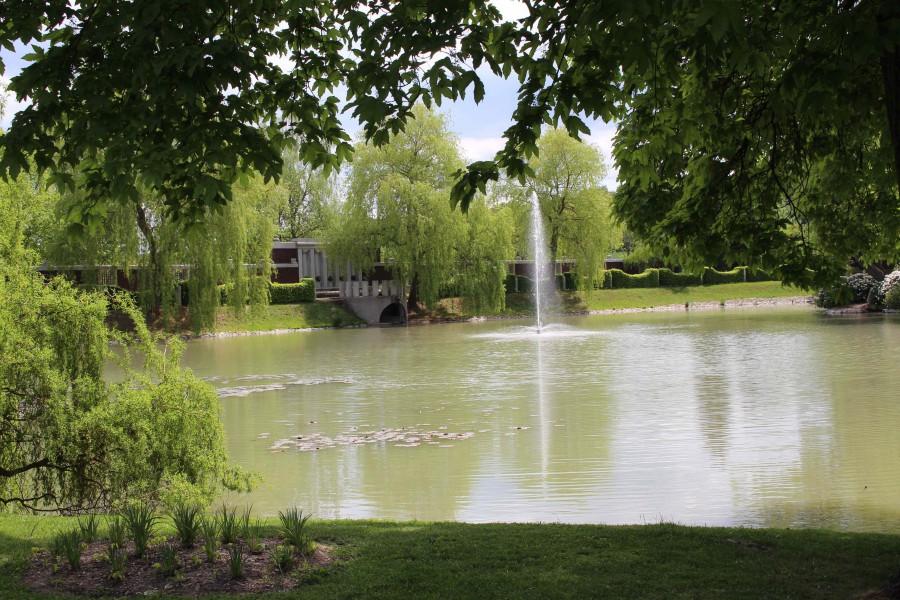 Lány - zámecký rybník